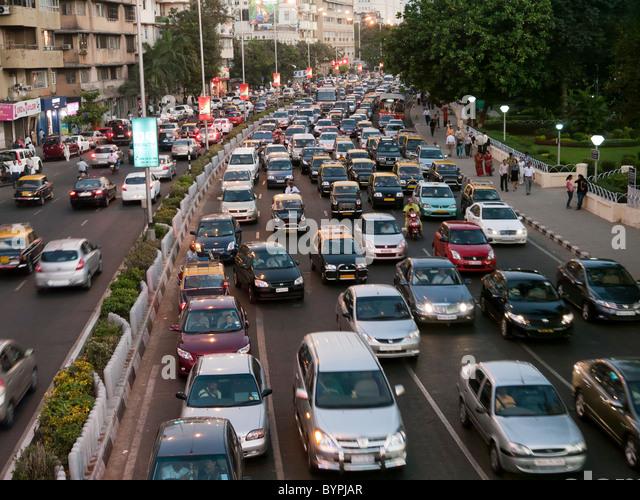 Traffic jam in mumbai
