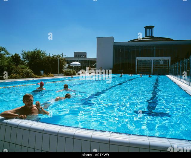 Badeanstalten stock photos badeanstalten stock images alamy - Bad homburg swimming pool ...