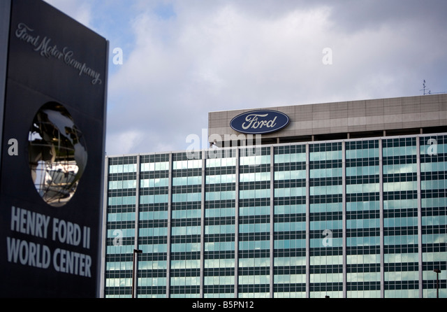 Ford Car Factory Detroit Stock Photos Ford Car Factory