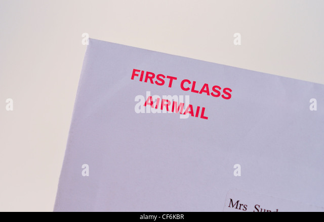 First Class Stamp Envelope Stock s & First Class Stamp