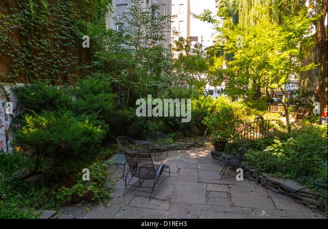Garden Pathway Chair Stock Photos Garden Pathway Chair Stock Images Alamy