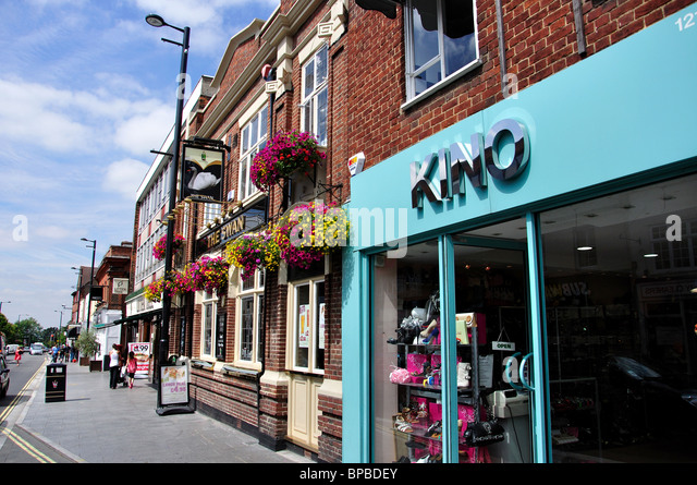 Brentwood United Kingdom  city pictures gallery : Brentwood England High Street Stock Photos & Brentwood England High ...