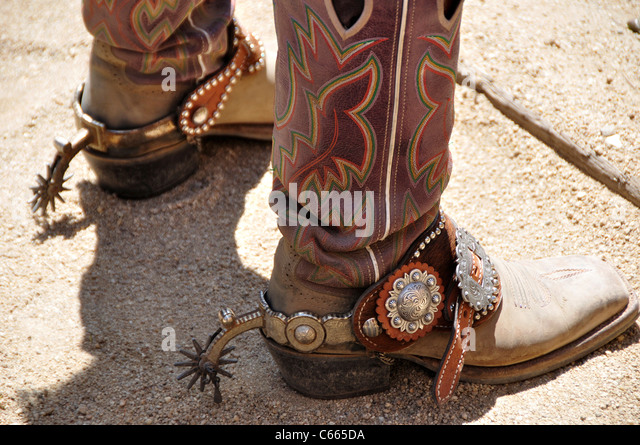 Cowboy Boots Spurs Stock Photos & Cowboy Boots Spurs Stock Images ...