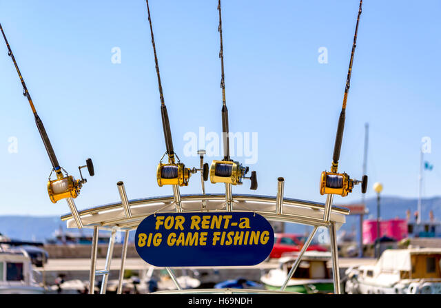 Big marlin stock photos big marlin stock images alamy for Fishing equipment rental
