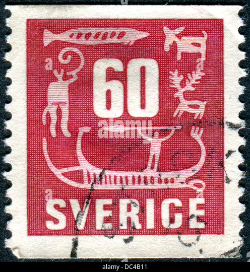 Rock carvings sweden stock photos