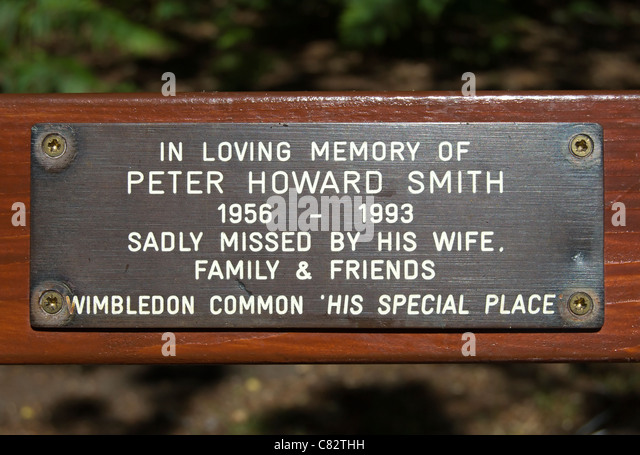 Memorial benches stock photos memorial benches stock for 228 salon wimbledon