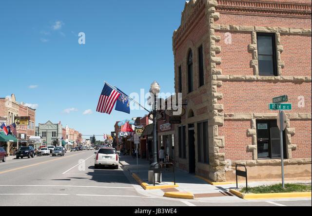 Red Lodge, Montana, United States. - Stock Image