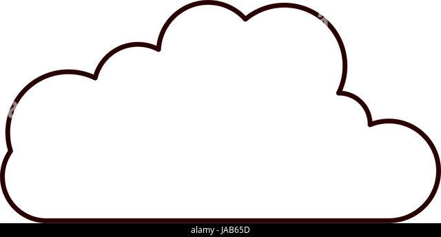 Cumulus Cloud Shape Stock Vector Images Alamy