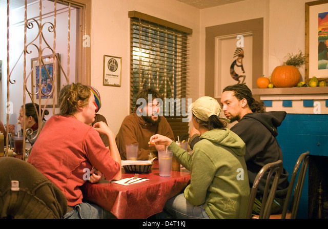 New Mexico: Albuquerque U0027El Patiou0027 Restaurant/cafe   Stock Image
