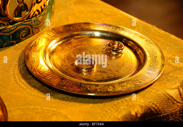 Wedding ring on gold plate Wedding ceremony Saint Andrew s Russian Orthodox  Cathedral  PhiladelphiaOrthodox Wedding Stock Photos   Orthodox Wedding Stock Images   Alamy. Orthodox Wedding Rings. Home Design Ideas