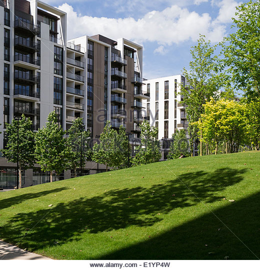 Olympic Village Apartments: New Flats Apartments Homes Stock Photos & New Flats