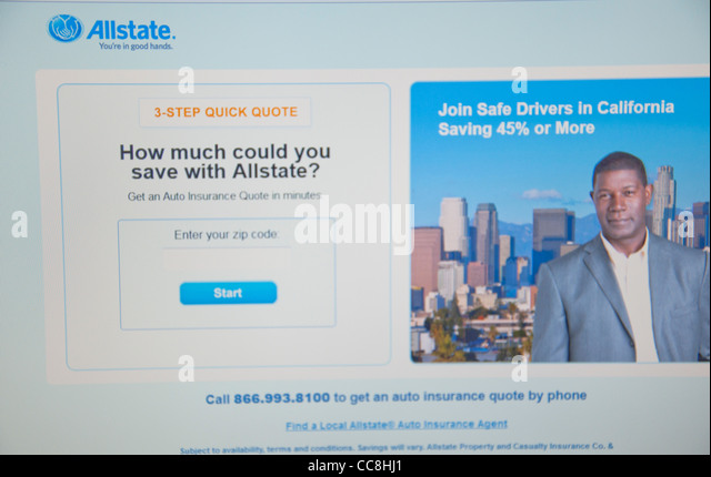 Allstate Quote Online Inspiration Allstate Stock Photos & Allstate Stock Images  Alamy
