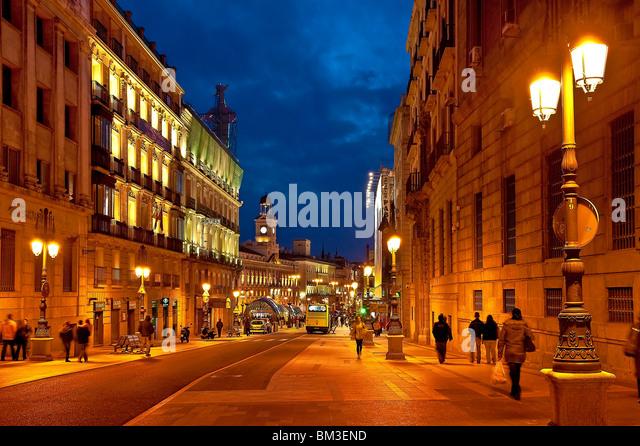 Puerta Del Sol Madrid Stock Photos Puerta Del Sol Madrid