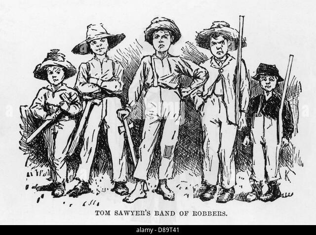 an analysis of unique characteristics in adventures of huck finn and tom sawyer Huckleberry finn and tom sawyer are the best of friends with remarkably different personalities each brings their unique characteristics into.
