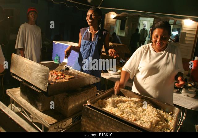 Oistins fish fry barbados stock photos oistins fish fry for Local fish fry