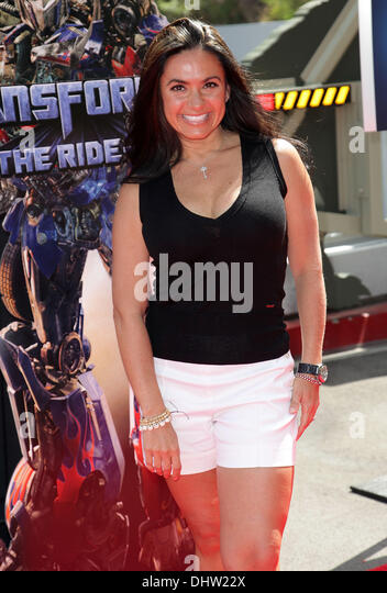 Penelope menchaca world premiere universal stock photos penelope penelope menchaca world premiere of universal studios hollywoods transformers the ride 3d voltagebd Image collections
