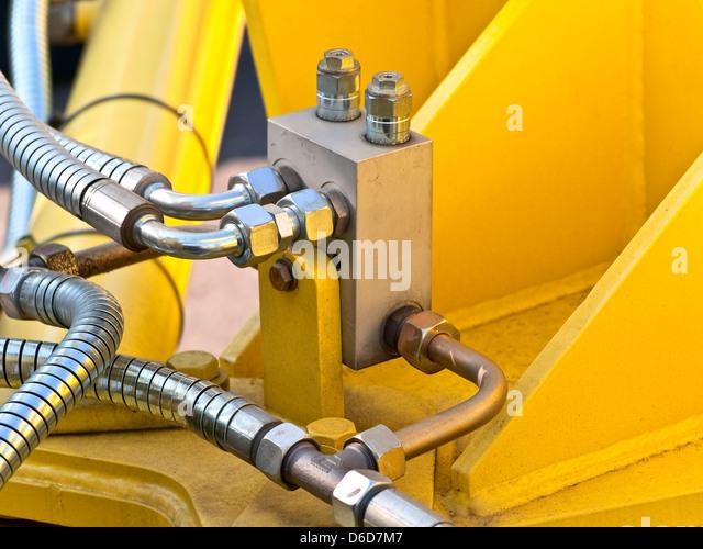 Hydraulic Lift Tubes : Hydraulics tubes stock photos