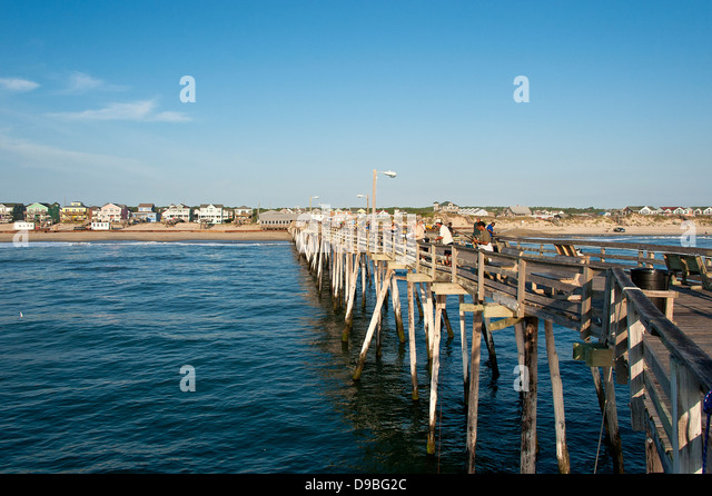 Nags head north carolina stock photos nags head north for Nags head fishing pier