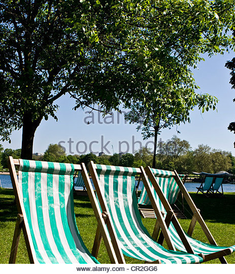 Pretty Typical British Summer Parkland Scene Stock Photos  Typical  With Exciting Three Traditional British Green Striped Deck Chairs Kensington Gardens  London England Europe  Stock Image With Delectable Wire Garden Ornaments Also Garden Room Extensions Uk In Addition Garden Caravan And Artificial Garden Plants Uk As Well As Garden Storage Seat Box Additionally The Gardens By The Bay Singapore From Alamycom With   Exciting Typical British Summer Parkland Scene Stock Photos  Typical  With Delectable Three Traditional British Green Striped Deck Chairs Kensington Gardens  London England Europe  Stock Image And Pretty Wire Garden Ornaments Also Garden Room Extensions Uk In Addition Garden Caravan From Alamycom