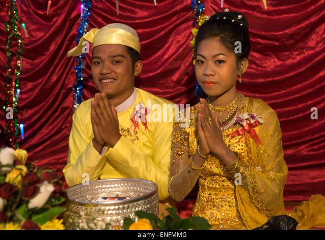 Wedding Ceremony In Chin Family Mrauk U Myanmar