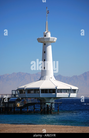 Coral World Underwater Observatory : Observatory Marine Park Stock Photos & Underwater Observatory Marine ...