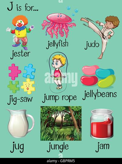 5 letter words with j many words begin letter illustration stock photos amp many 4277