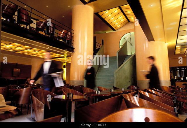 Caf costes stock photos caf costes stock images alamy - Cafe costes paris philippe starck ...