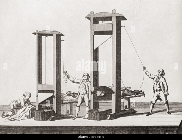 Guillotine French Stock Photos & Guillotine French Stock ...