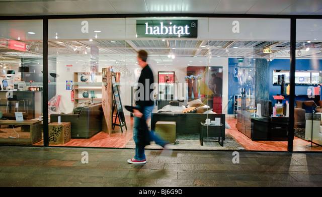 Habitat shop window stock photos habitat shop window for Forum habitat plus
