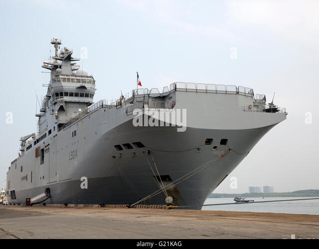 the mistral class is a class of three amphibious assault ships helicopter carrier of