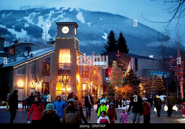 Christmas Lights In The Whistler