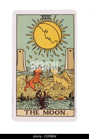 Moon Card Stock Photos & Moon Card Stock Images