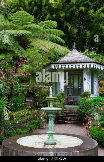 Reunion Island Indian Ocean France Hell Bourg Maison Folio   Stock Image