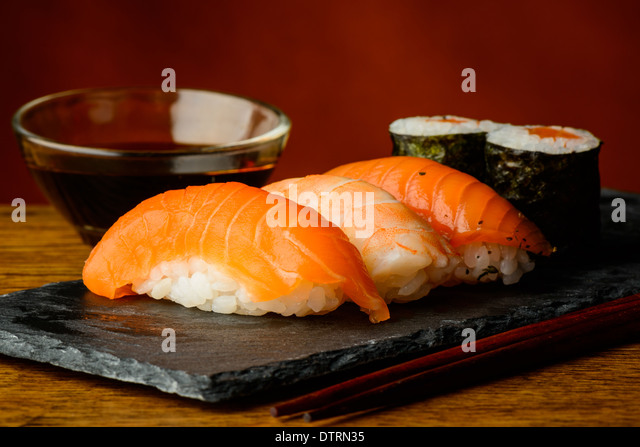 Japanese Food Mixed Maki Sushi Stock Photos Amp Japanese