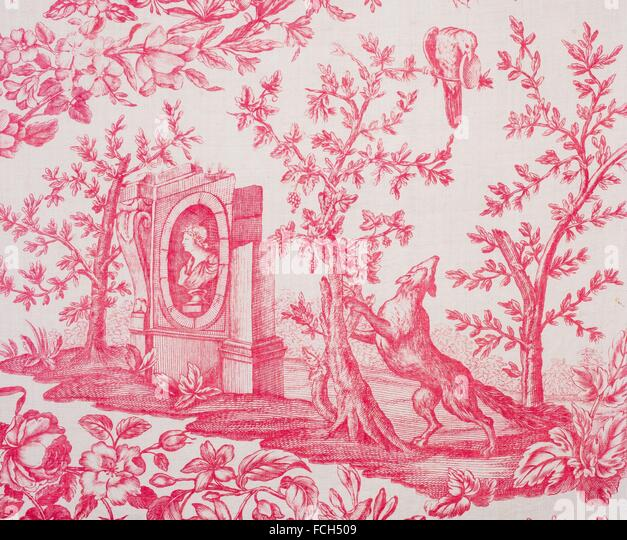 toile de jouy stock photos toile de jouy stock images. Black Bedroom Furniture Sets. Home Design Ideas