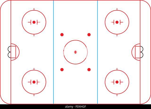Hockey Rink Diagram The Drink Toque It Was Originally Called