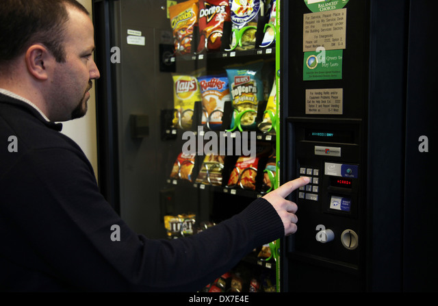 buying vending machine