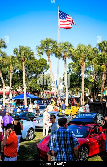 St Armands Circle Car Show