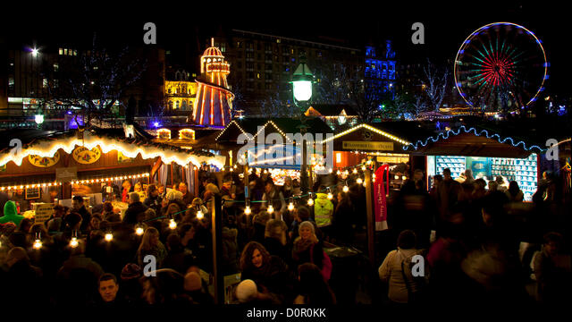 Edinburgh Christmas German Market Stock Photos & Edinburgh ...