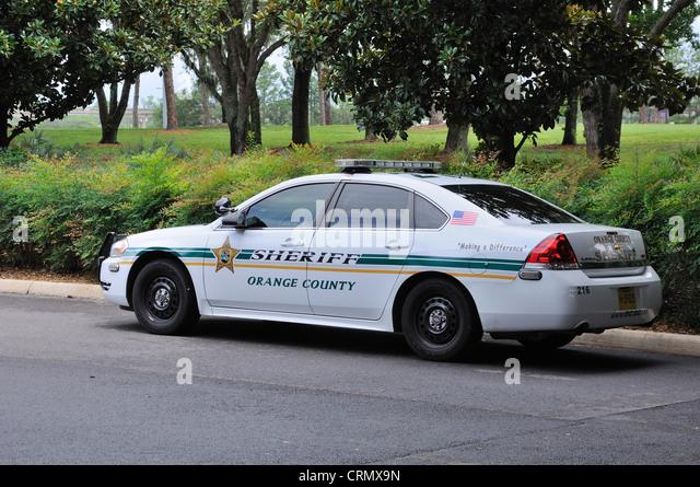 Sheriffs car stock photos sheriffs car stock images alamy - Orange county sheriffs office florida ...