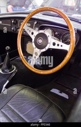 on this classic vintage british car lagonda classic vintage car