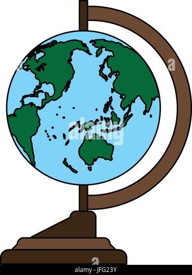 World Map Teach Accessory