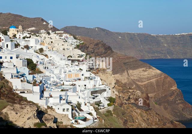 Greek Island Known For White Coastal Houses