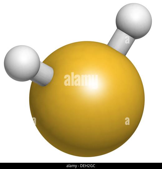 Hydrogen Sulfide Molecule Stock Photos & Hydrogen Sulfide ...