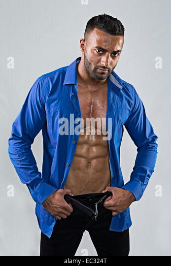 unbuttoned blue shirt stock photos amp unbuttoned blue shirt
