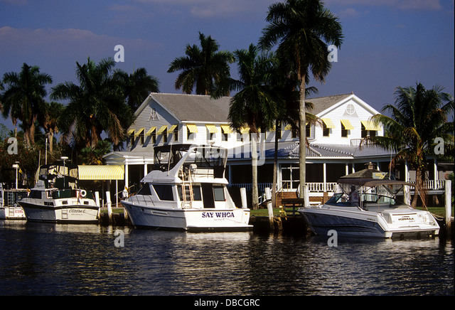 Everglades hotel stock photos everglades hotel stock for Florida fishing lodges