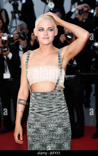 Cannes, France. 20th May, 2017. Kristen Stewart attends the premiere of '120 Beats Per Minute (120 Battements - Stock Image