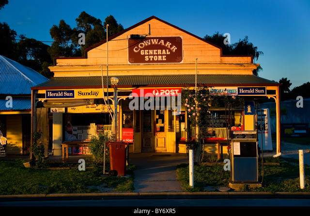 General store australia stock photos general store for Xi an food bar mt albert
