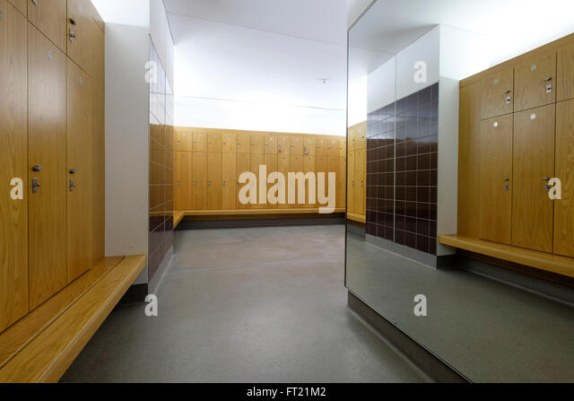 Locker room gym stock photos