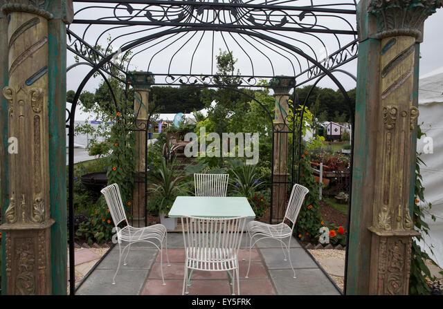 knutsford uk 22nd july 2015 garden furniture on display at the rhs - Garden Furniture 2015 Uk